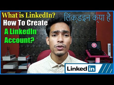 How To Create LinkedIn Account//Profile 2018