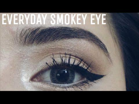 Everyday Glam Smokey Eye ♡