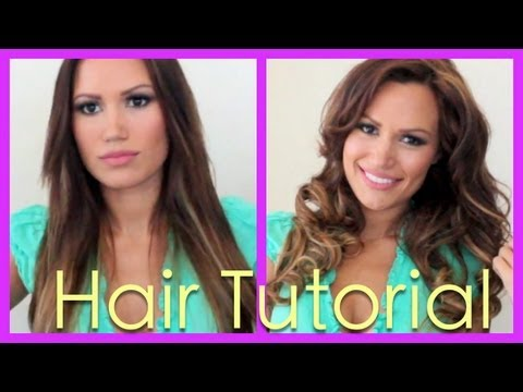 Hair Tutorial: How to get Gorgeous Curls with Hot Rollers