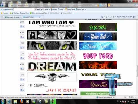 how to make Facebook banner the easiest way