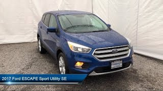 Download 2017 Ford ESCAPE Sport Utility SE Carthage Watertown Gouverneur Syracuse Utica Video
