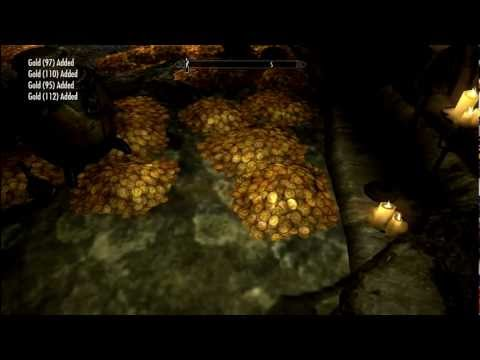 SKYRIM / DRAGONBORN: TREASURE ROOM / FREE GOLD