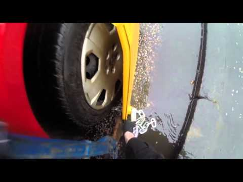 D.V.L.A clamp removal by a man