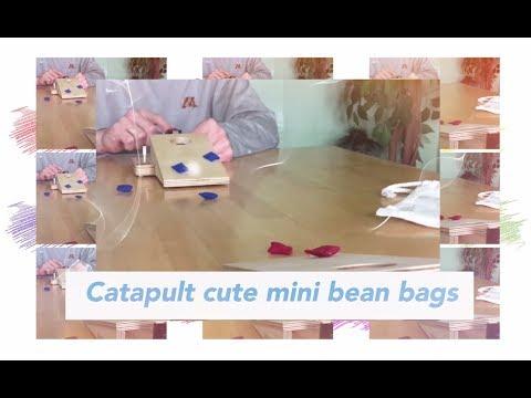 New Mini Bean Bag Toss Cornhole Game with Catapults