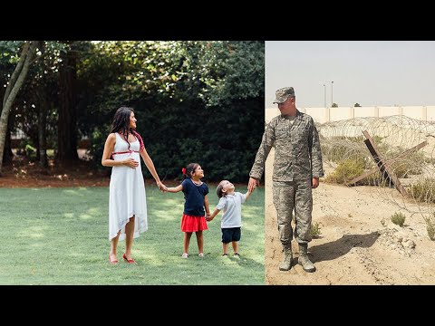 Photographer Reunites Deployed Military Dad With Family in Emotional Photo