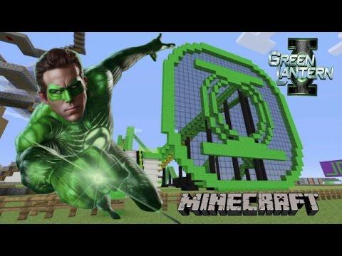 Green Lantern Roller Coaster : Minecraft Edition