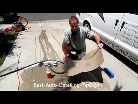 Cleaning rubber floor mats: Meguiar's Super-Degreaser
