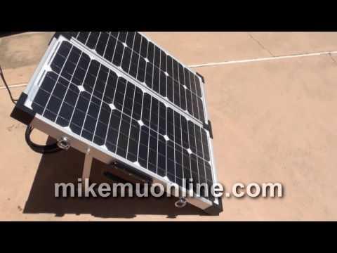 Zamp Solar Portable 60 Watt Solar Kit and Generator (2011)