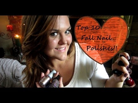 Top 10 Nail Polishes for Fall!!