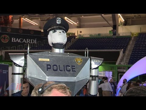 FIU Robocop at TigerDirect Tech Bash 2015 | Into Tomorrow