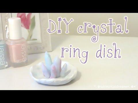 DIY Crystal Ring Dish