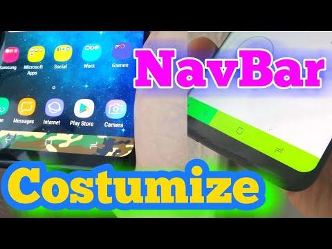 Galaxy S8 Navigation Bar Customization