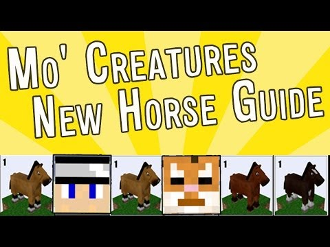 Mo' Creatures How To: [1.7.2] New Updated Horse Guide! - Fixed Breeding Chart & Horse Tiers