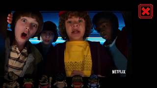 STRANGER THINGS EXCLUSIVE SEASON 2 TRAILER END OF STRANGER THINGS GAME ALL VHS TAPES