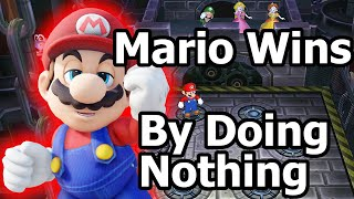 Mario Party 9 〇 Mario Wins by Doing Absolutely Nothing