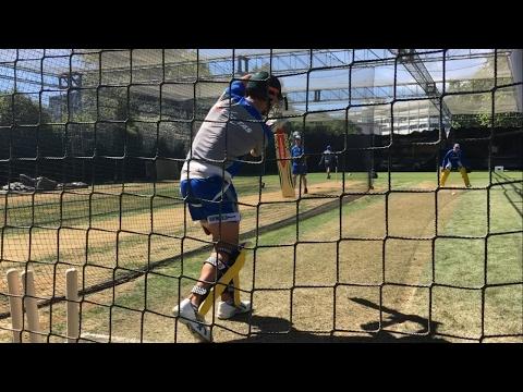 Australian Cricket Team Net Training 2017