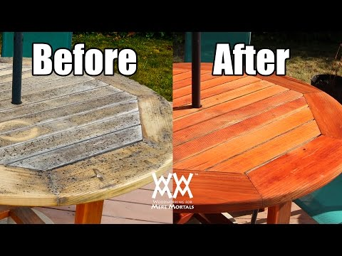 Are Outdoor Finishes Useless? Refinishing My Patio Table.