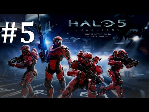Halo 5: Guardians Early Beta Access Multiplayer Gameplay Part 5
