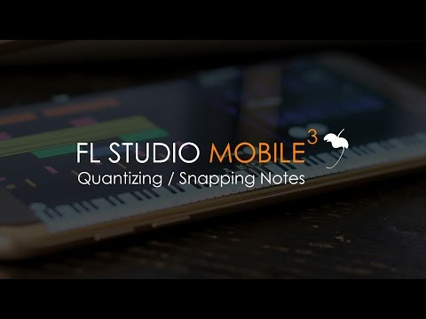 FL Studio Mobile 3 | Quantizing & Snapping Notes