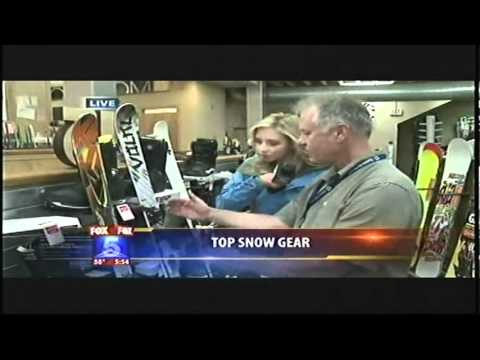 FOX5's Heather Ford at Hansen Surfboards: The Latest in Skis & Snowboards #1 2-7-12 5am