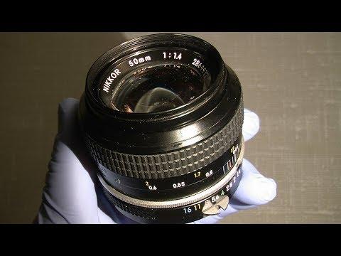 Re-lube Pre-Ai Nikkor 50mm 1:1.4