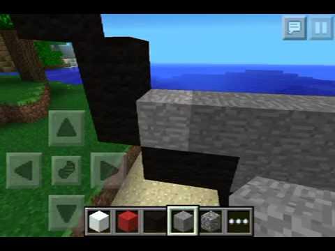 Minecraft pe pixel art poke ball