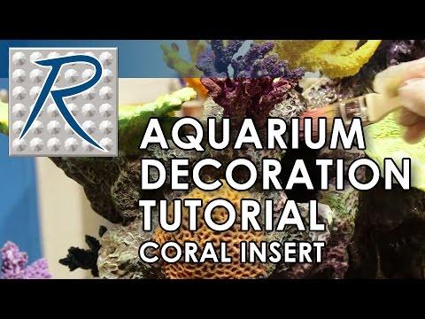 Make Your Own™ Custom Aquarium Inserts Using Free Form® Habitat® Black Epoxy Putty
