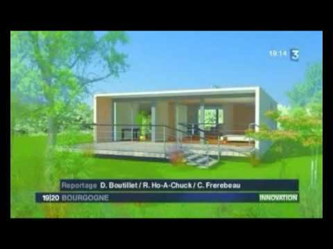 Maison container - Reportage France 3 Bourgogne