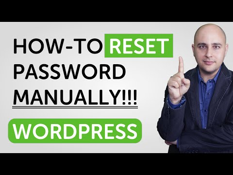 How-to Manually Change A WordPress Password In The Database