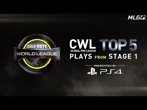 CWL Global Pro League Stage 1 Top 5 Plays Presented by PS4