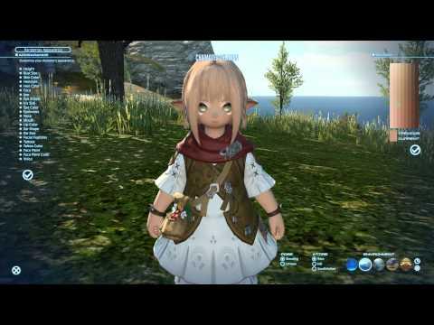 Final Fantasy XIV: A Realm Reborn — Changing apperance