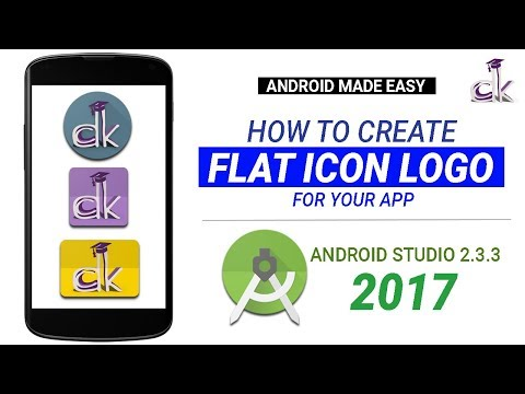 How To Make Your Own Flat Icon Android App Logo in Under 5 Minutes!
