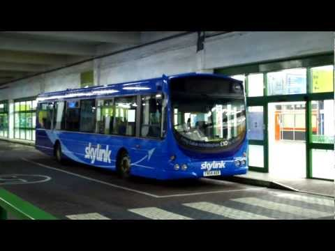 Nottingham, Buses to East Midlands Airport