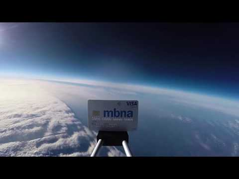 MBNA Platinum Credit Card in Space | MBNA