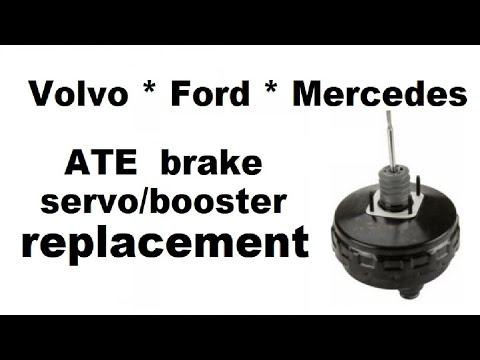 Volvo S60 Brake booster and master cylinder replacement