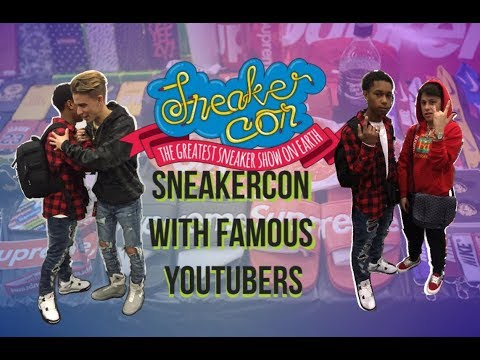 GOING TO SNEAKERCON NYC MEETING FAMOUS YOUTUBERS