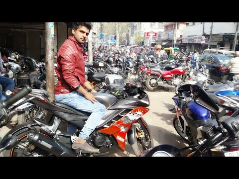 INDIA'S BIGGEST SUPER BIKES IN CHEAP PRICE | SECOND HAND BIKES MARKET IN KAROL BAGH DELHI