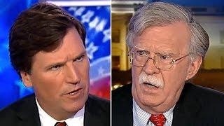 Tucker Carlson Vs Neocon John Bolton On Regime Change Wärs | It Gets Weird