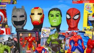 Superhero Toys: Batman, Spider man, Avengers \u0026 Hulk Toy Vehicles for Kids