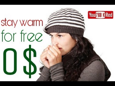 10 tips to stay warm at home for free Without a Heater