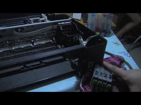 Disassemble Epson Stylus TX121 Printer