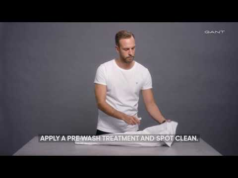 GANT - How To Wash a Shirt