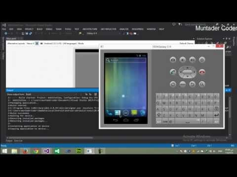 Webview android app for your website using xamarin c#