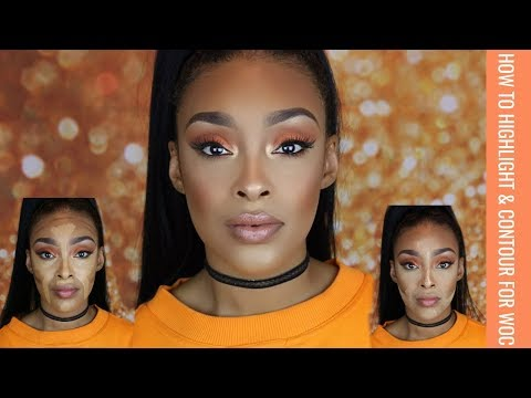 HOW TO SNATCH YOUR FACE: IN DEPTH FULL COVERAGE HIGHLIGHT & CONTOUR TUTORIAL FOR WOC
