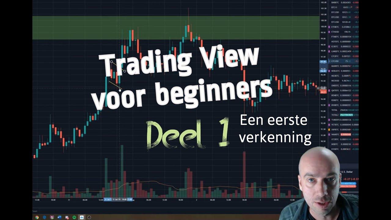 (267) Tradingview voor beginners: Deel 1
