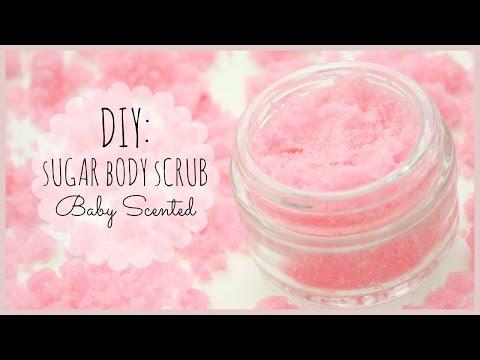 DIY: Sugar Body Scrub | Baby Powder Scented