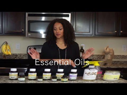 Essential Hair Oils | Curly Hair | lovekenziie