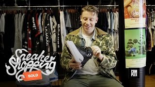 Macklemore Goes Sneaker Shopping With Complex