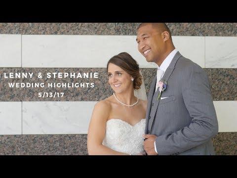 Lenny and Stephanie Wedding Highlights - Beautiful Cleveland Wedding