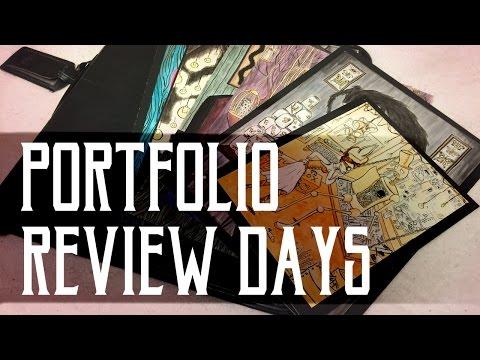 Portfolio Review Days // How to Present Your Portfolio